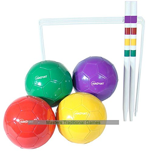 Bex Sunsport Football Croquet Garden Game - White by BEX