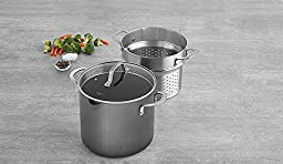 Calphalon 1932446 Classic Nonstick Stock Pot, 8 quart, Grey
