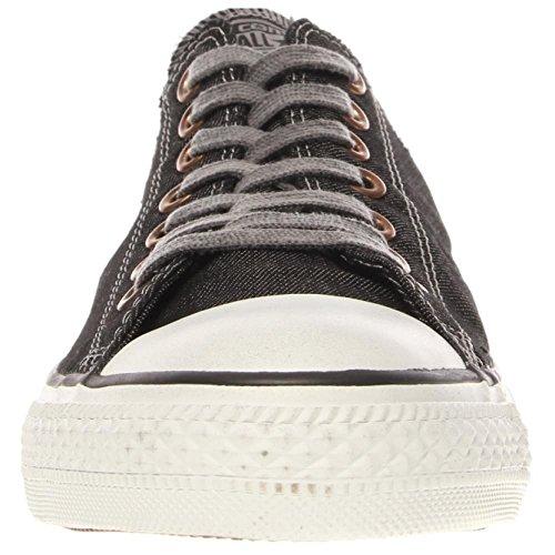 Converse–Chuck Taylor All Star Denim zapatos de bajo negro