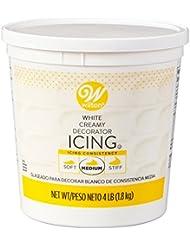 Wilton Creamy White Decorator Icing, 4 lb. Tub, Cake Decorating Supplies