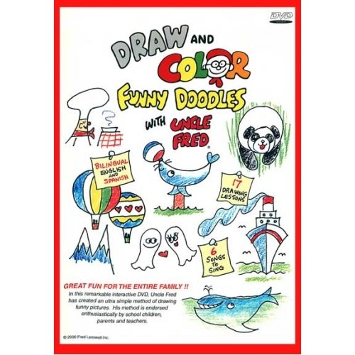 (Draw and Color Funny Doodles with Uncle Fred)