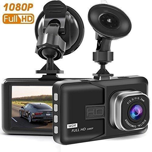 AGracy Dash Cam Full HD 1080P 3.0' LCD Screen 170° Wide Angle Car Dash Cams DVR Dashboard Camera Built In G-Sensor, WDR, Loop Recording(Black) myheijingang1