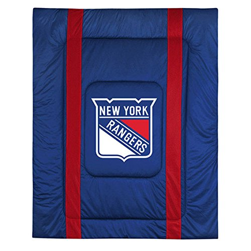 Twin Bed Sideline Comforter - NHL New York Rangers Sideline Comforter Twin