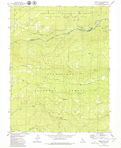 YellowMaps Garnet Hill CA topo map, 1:24000 Scale, 7.5 X 7.5 Minute, Historical, 1979, Updated 1979, 26.7 x 21.9 in - Paper]()