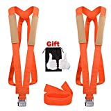 GOOACC 2 Person Moving Shoulder Harness Lifter Aid with Foam Pad 13Feet Lifting Straps Carry Bag Max Load 600 Pound 2