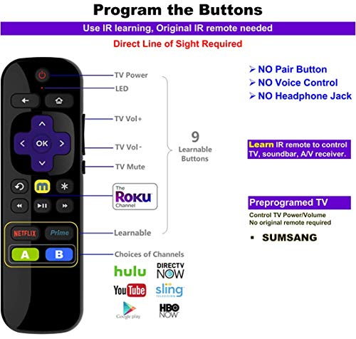 Buy universal remote for roku 3
