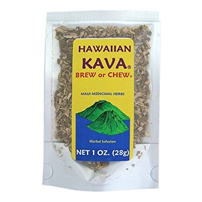 Hawaiian Kava Brew or Chew Piper Methysticum Root From Hawaii