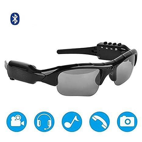 SLONG Gafas de Sol de Video Impermeables Bluetooth, Lentes ...