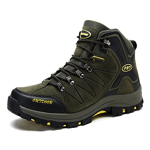 Men's Mid Trekking Hiking Boots Outdoor