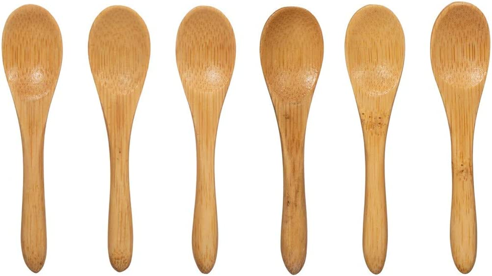 Sass /& Belle Mini Bamboo Spoons Set of 6