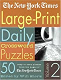 Large-Print Daily Crossword Puzzles, New York Times Staff, 0312331118