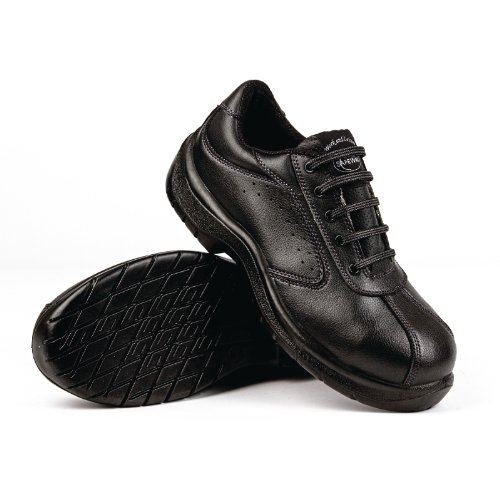 45 Safety Color Lites Calzado Footwear Negro Perforado A398 Lateral qt4n6vtx