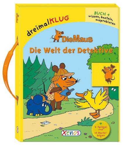 Die Maus - Die Welt der Detektive: dreimalKLUG-Bastelbox