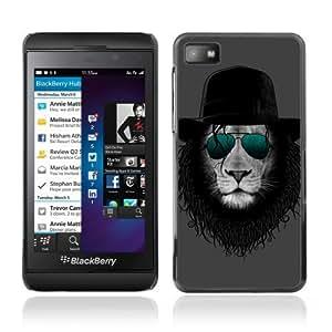 YOYOSHOP [Cool Lion] Blackberry Z10 Case