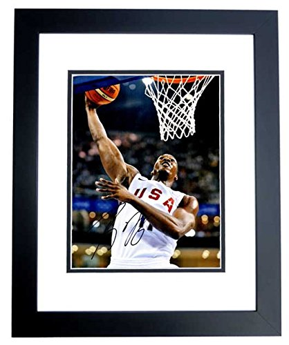 Dwight Howard Signed - Autographed TEAM USA Basketball 11x14 inch Photo BLACK CUSTOM FRAME ()