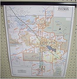 zip code map tucson