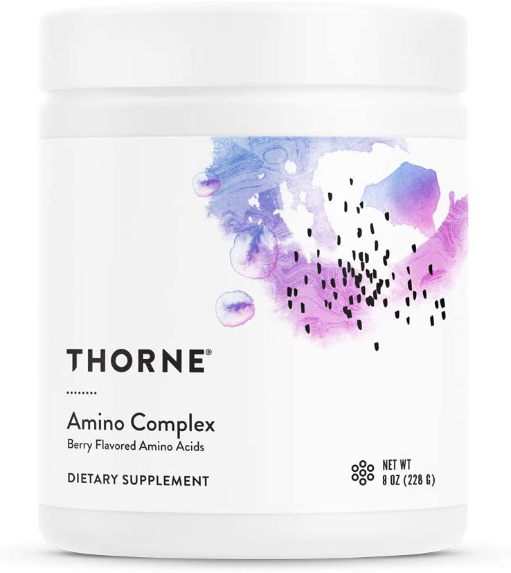 Thorne Research - Amino Complex - BCAA Powder for Sports Performance - Berry Flavor - 8 Oz