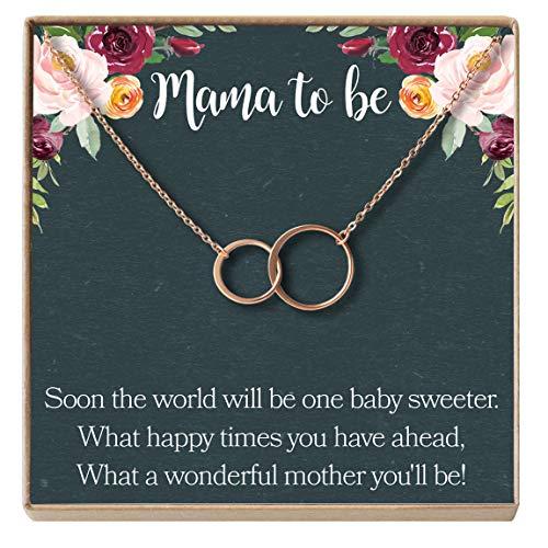 Dear Ava Pregnancy Gift Necklace, New Mom,