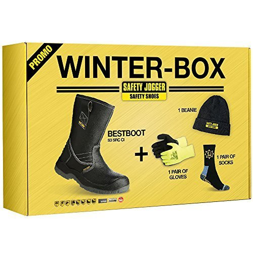 Jogger BESTBOOT antinfortunistiche JOGGER Saftey adulto unisex Box Winter Scarpe SAFETY aqwtEOq