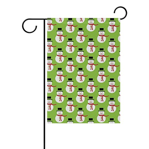 DNOVING Home Decorative Outdoor Double Sided Christmas Snowm
