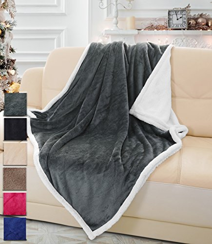 Sherpa Blanket Bedding Fleece Reversible