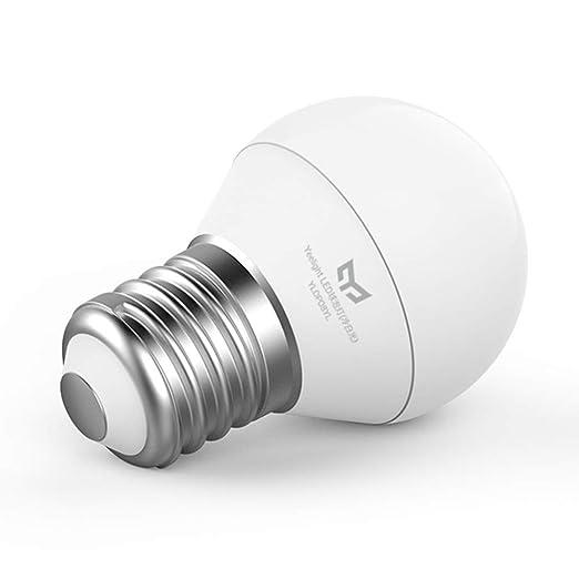 Yeelight E27 5W Luz blanca fría Alto brillo Sin flash LED 220V Bombilla