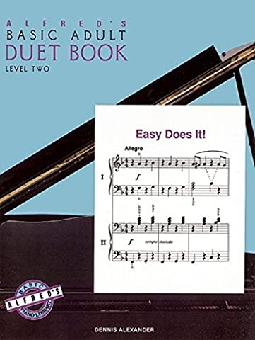 Alfred's Basic Adult Piano Course Duet Book, Bk 2 (Piano Sheet Music Easy Adult)
