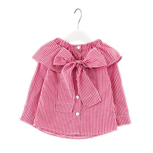 Colorful Childhood Little Girls Plaid Blouse Kids Long Sleeve Peter Pan Collar Shirt Spring Autumn Tops