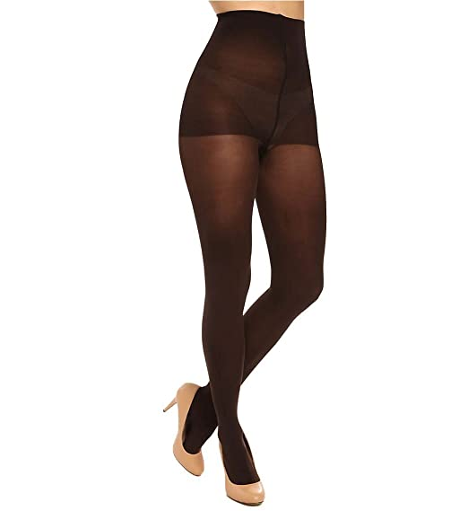 ef42aeed7 Image Unavailable. Image not available for. Color  Donna Karan Sueded  Jersey Control Top Pantyhose 0B110