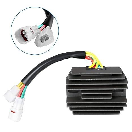 Amazon com: SCITOO Regulator Rectifier Replacement Voltage