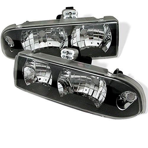 Spyder Auto Chevy S10/Chevy Blazer Black Crystal Headlight