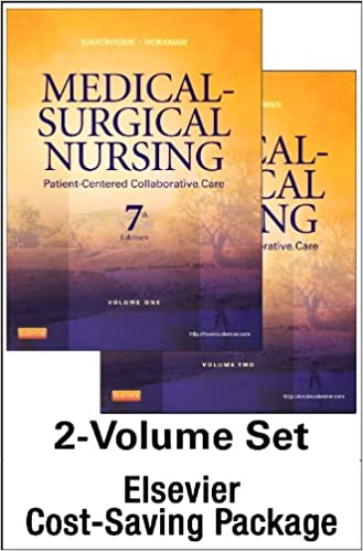 Medical-Surgical Nursing -- Two-Volume Text and Elsevier Adaptive Quizzing Package