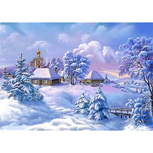 Christmas Package, Diamond Painting Kits for Adults Full Drill Round Clearance,DIY 3D Feel 5D Diamond Painting Crystal Rhinestone Diamond Embroidery Arts Craft 11.8x15.7 inch(30x40cm)