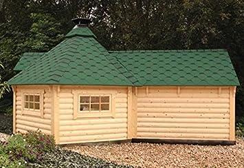 Wolff Finn hogar barbacoa Kota 9 de Luxe con sauna Cultivo