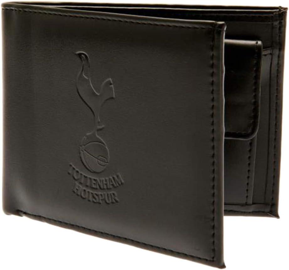 Tottenham Hotspur FC Portefeuille en cuir avec /écusson en relief EPL dans une bo/îte cadeau