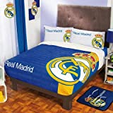 Bedspread Blanket Fleece Real Madrid MLS Full/Mat Sports Football Plus Sheets Set LIMITED EDITION
