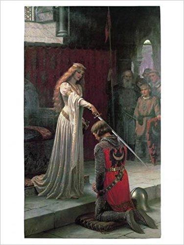 Posters: Edmund Blair Leighton Poster Art Print - The Accolade 1901