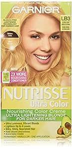 Garnier Nutrisse Ultra Color Nourishing Color Creme, LB3 Ultra Light Beige Blonde