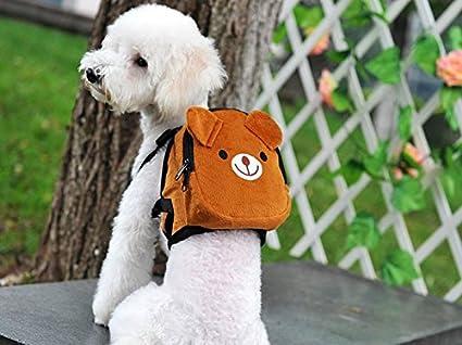 Mochila osito para tu mascota llevara su agua, sus chuches sus toallitas y bolsas.