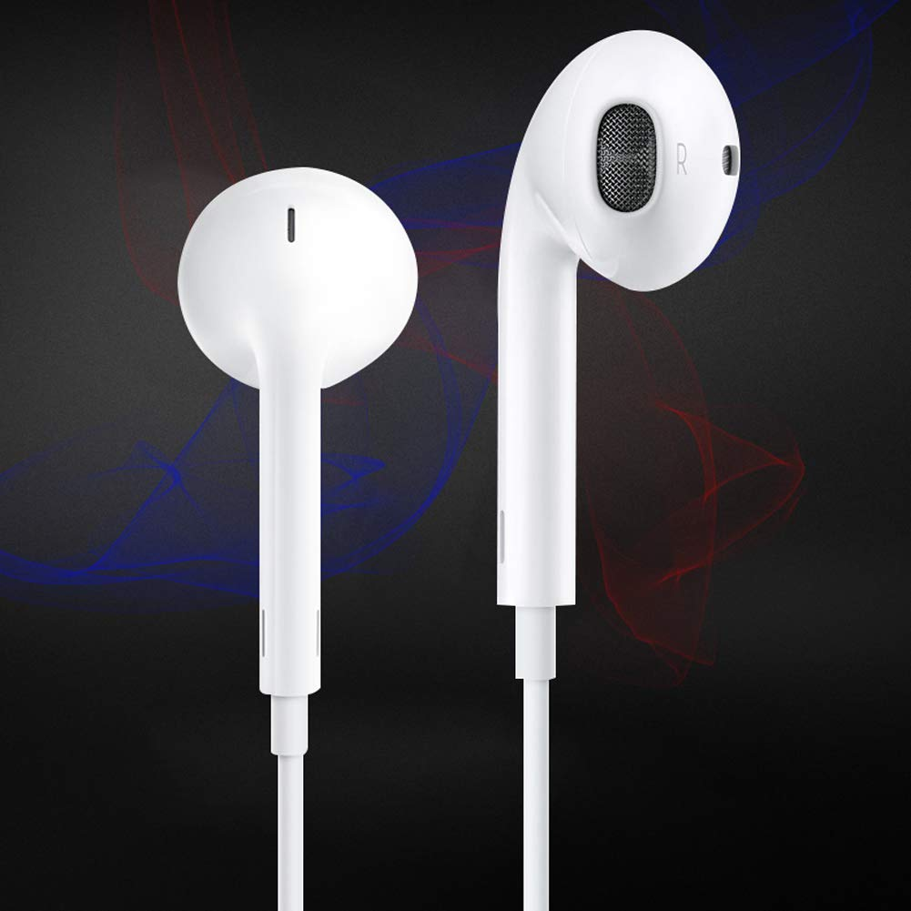 Loyiigo Auriculares in-Ear con Micr/ófono y Control Remoto para iPhone iOS Android