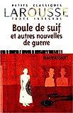 Boule de Suif et Autres Nouvelles de Guerre, Maupassant and Guy de Maupassant, 2035881099