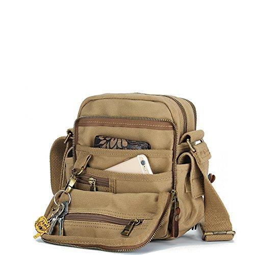 Bolsas de lona/bolso de bandolera/bolso de hombro inclinado/Al aire libre deporte recreativo bolsillo-B A