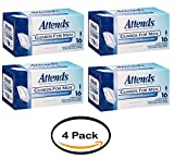 Attends Guards For Men - 4 pks of 16ct