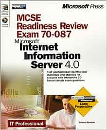 Mcse internet information server 4 for dummies: david iseminger.