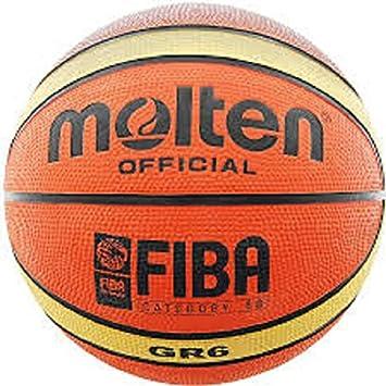 MOLTEN GR6 - Balón de baloncesto (talla 6): Amazon.es: Deportes y ...