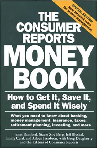 amazon the consumer reports money book how to get it save it