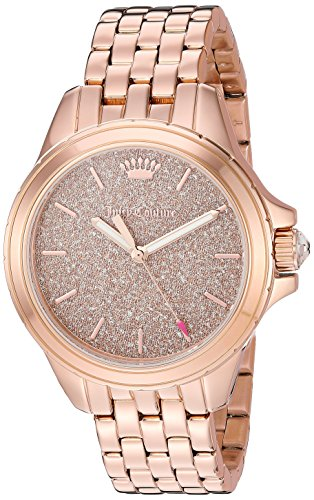 Juicy Couture Women's 'MALIBU' Quartz and Stainless Steel Casual Watch, Color:Rose Gold-Toned (Model: 1901594) (Juicy Couture Model)