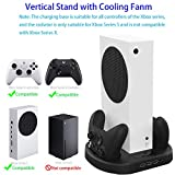 Vertical Stand with Cooling Fan, for Xbox Series S