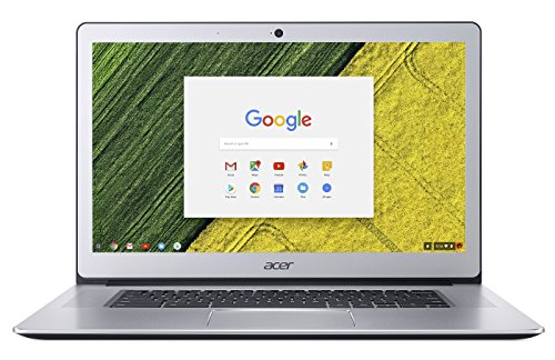 Acer Chromebook 15 Cb515 1Ht P39b  Pentium N4200  15 6  Full Hd Touch  4Gb Lpddr4  32Gb Storage  Pure Silver