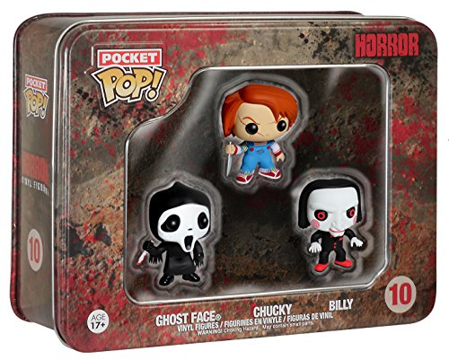 Funko Pocket POP: Horror - Ghostface, Chucky, Billy Toy Figure -